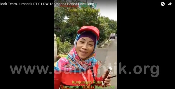 Sidak Team Jumantiker RT 01 Rw 13 Pondok Benda